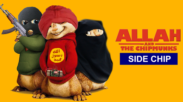 Allah and the Chipmunks: Side Chip by kippy-kip