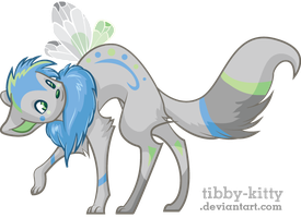 Himitay the Faerie Xweetok by Tibby-Kitty