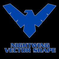 Nightwing Vector Shape by Retoucher07030