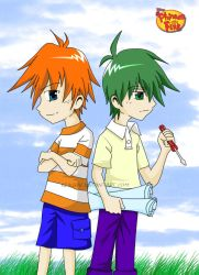Phineas and Ferb by Keikirai