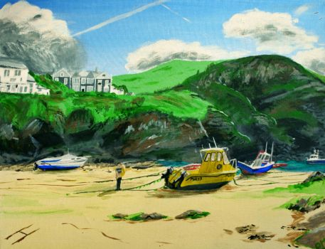 Port Isaac by Maypaul