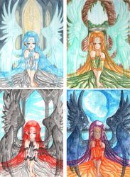 4 Angels kakaos by Aine55