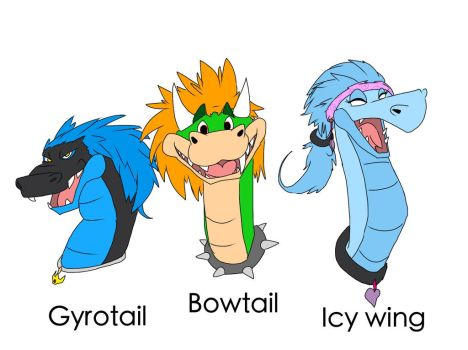 Bowtail and friends by LeemonZ