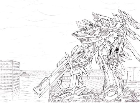 armored core by takadox2