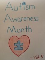 Autism Awareness Month by V-pal97