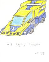 No.2 Raging Thunder by L1701E