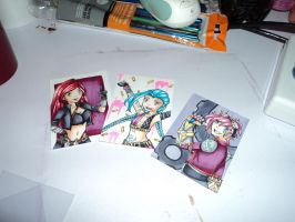 League of Legends ATC's (finished) by LunaOfWater