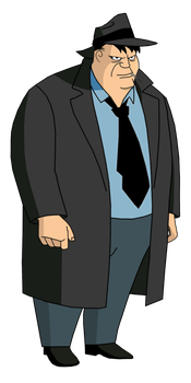 Batman TAS: Detective Harvey Bullock by TheRealFB1 by TheRealFB1