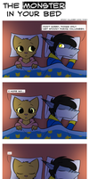 The Monster In Your Bed by KillerfishSG