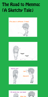 Road To Menma: A Sketchy Tale by Momochi492