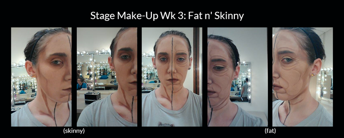 Stage Make-Up Wk 3 by Lady-Ceridwen