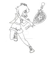 Rosalina Mario Tennis Ultra Smash by PhantomMasterRamos89
