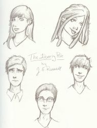 The Liberty Pole cast - protagonists by TakadaSaiko