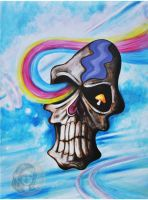Skull in the sky by NickMears