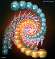 Planetary Spiral by one-tough-one