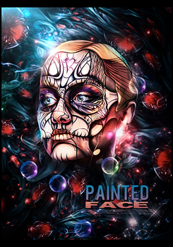 Painted face  by MARKCAPE
