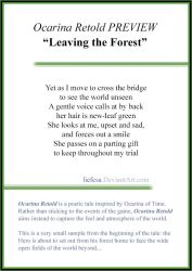 Ocarina Retold PREVIEW: Leaving the Forest by Liefesa