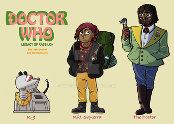 Doctor Who: The Yth Doctor and Friends (UPDATED) by TripodArts