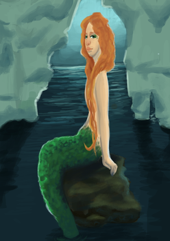 Mermaid by BambiNothing