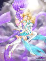 Star Guardian Janna and Rosalina awwwww by JamilSC11