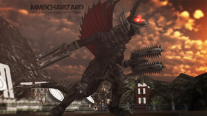 MMD Newcomer - PS3/PS4 Gigan V2.5 +DL+ by MMDCharizard