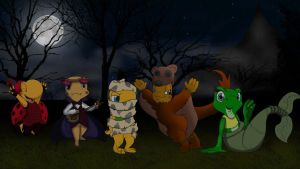 Toad Patrol Halloween Collaboration by Tinker-Jet