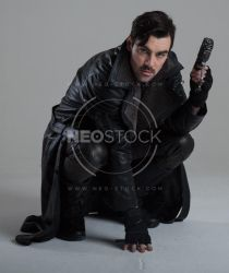 Danny Cyberpunk Detective 152 - Stock Photography by NeoStockz