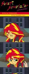 Sunset Shimmer Simulator by doubleWbrothers