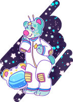 AESTHETIC ADOPT REVEAL: intergalactic bear by irlnya