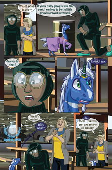 The New Normal - Issue One: Hiding - Page 2 by SonicSpirit128