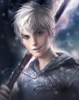 Jack Frost by sakimichan