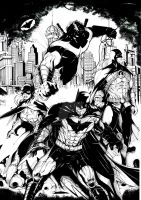 Batfamily by GleBik