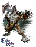 Endless Realms player class - Barbarian by jocarra