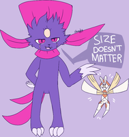 size doesn't matter,it will murder you anyway