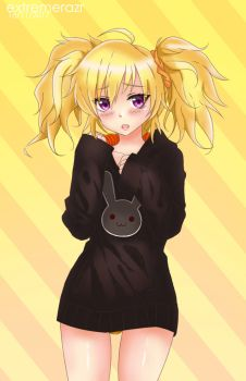Twintail Yang Xiao Long by extremerazr