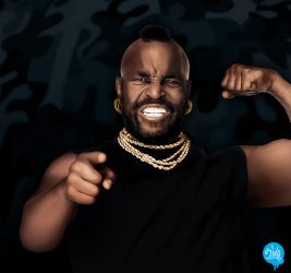Mr T by 5-tab
