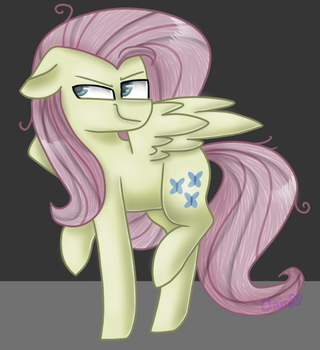 Mean 6 (Fluttershy) by ClaireDaArtiste444