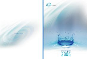 annual report design by chronicless