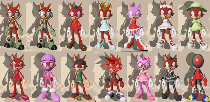 Sonic Forces: Avatar Crossdressing by Zizum