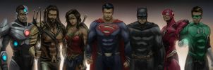 Justice League! by themimig