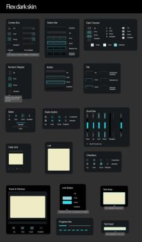 Marvelous Flex Darkskin PSD UI by PsdThemes