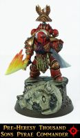 Pre-Heresy Thousand Sons Commander by Proiteus