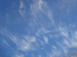 Cirrus Clouds by Jrathage-Stock
