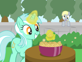 She Stole My Muffins! by GrayTyphoon