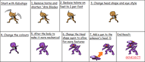 From Kabutops to Genesect