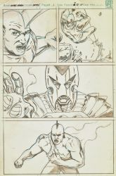 Savage Dragon sample page by Narcisticthinker