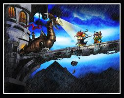 Chrono Trigger: the Dragon Tank by Toadman005