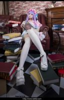 Touhou Project Patchouli Cosplay 03 by eefai
