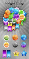 Badges And Tags by imonedesign