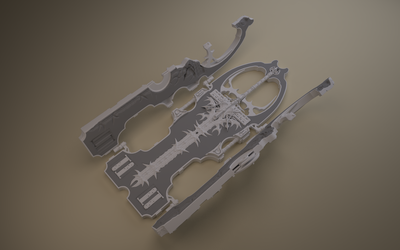 No Name Weapon - WIP 2 by Samouel